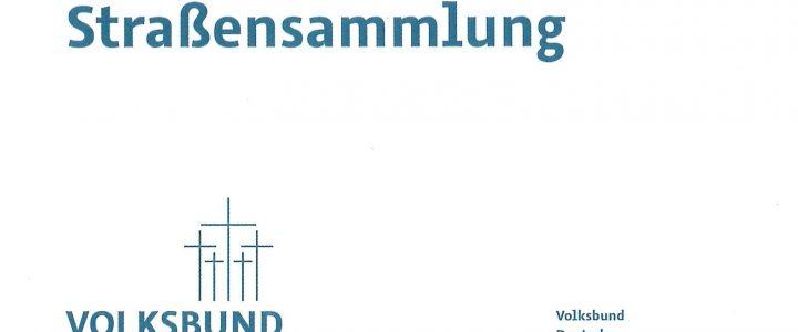 Haus- und Straßensammlung – Volksbund Deutsche Kriegsgräberfürsorge e. V.
