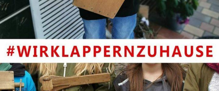 """""""Klappern … Dahäm!"""" – Klappern in Osburg in Zeiten der Corona-Pandemie"""