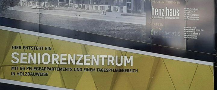 WI Capital, henz.haus und MENetatis: Spatenstich Seniorenzentrum MENetatis Osburg