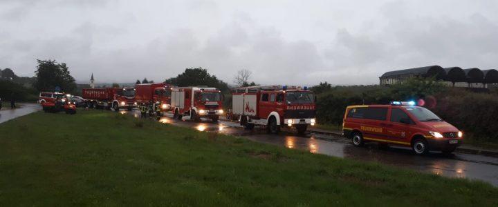 Feuerwehr Osburg – Einsatz bei der Flutkatastrophe