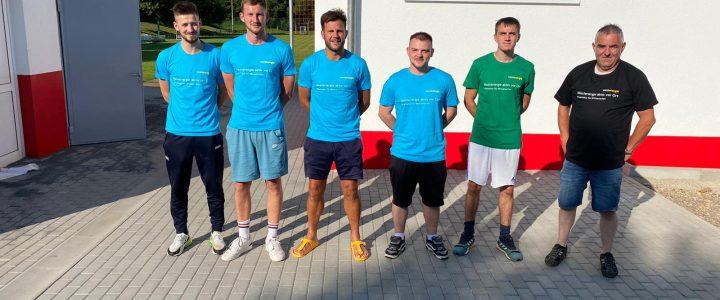 Fußballsportverein pflastert Außenflächen mit finanzieller Unterstützung von Westenergie