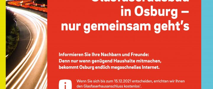 Möglicher Glasfaserausbau durch Westenergie in Osburg – Weitere Informationen…